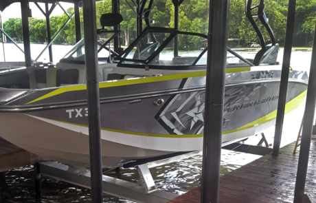 proteus boat lifts boat lift installed out of water 460x295 - Gallery