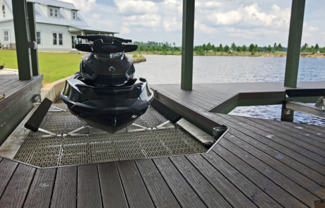 proteus boat lifts jet ski lift up installed 460x295 - Gallery