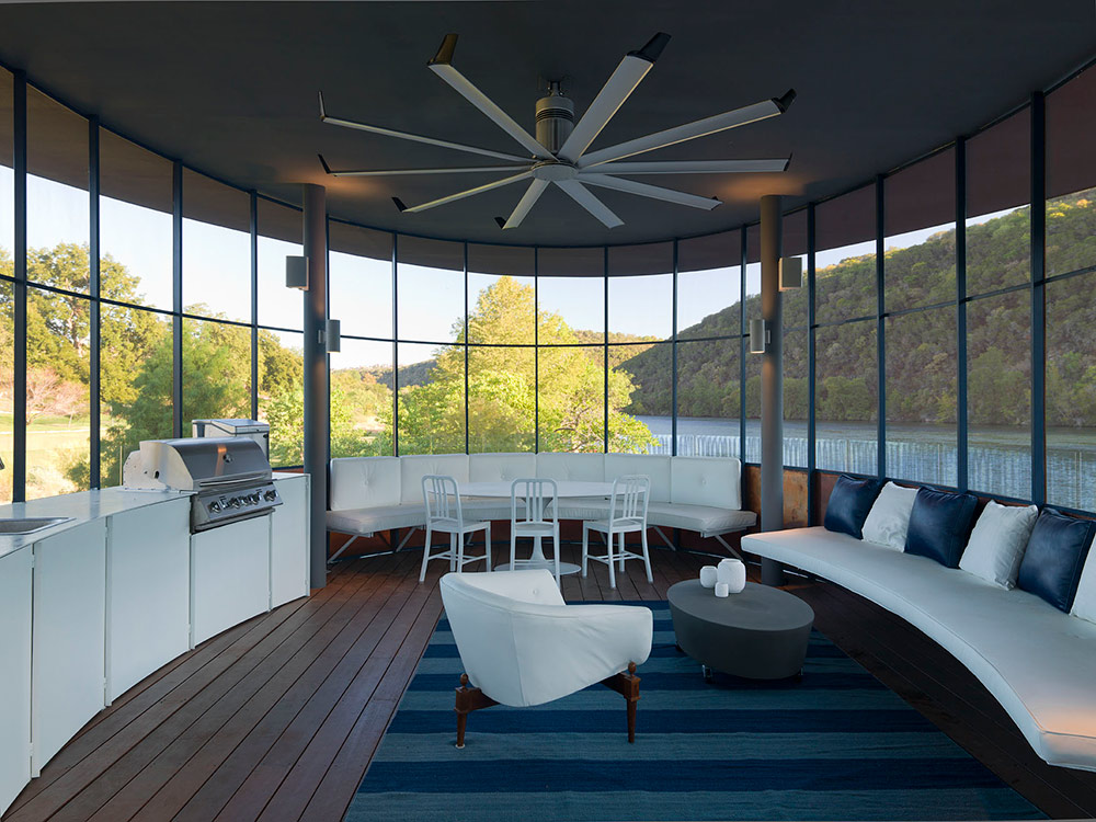 Shore Vista Boat Dock Lake Austin Texas BBQ Kitchen - New Dock Trends: Bars, Outdoor Kitchens and Much More